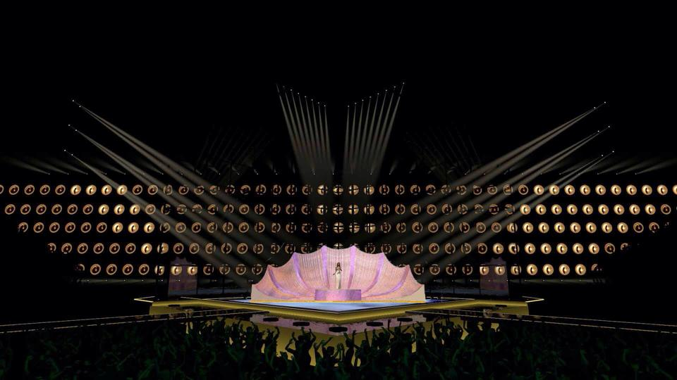EUROVISION STAGE 2014 DR